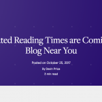 Adding Estimated Read Time to a WordPress Post
