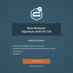 Signature Add-On v3.6 Released